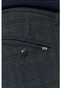 Tailored & Originals - Spodnie. Kolor: szary. Materiał: tkanina