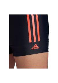 Adidas - Kąpielówki męskie adidas Semi 3-Stripes Swim Briefs FJ4738. Materiał: nylon, tkanina, materiał, elastan. Długość: długie #4