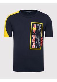 Puma T-Shirt Red Bull Racing Logo Tee 596221 Granatowy Regular Fit. Kolor: niebieski