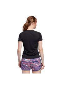 Adidas - Koszulka damska do biegania adidas 3-Stripes Run Tee FK1602. Materiał: skóra, poliester, materiał. Długość rękawa: krótki rękaw. Długość: krótkie. Sport: bieganie