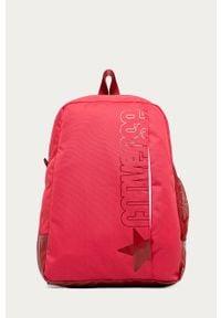 Różowy plecak Converse z nadrukiem