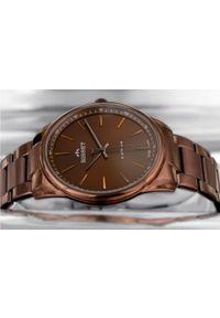 Brązowy zegarek Bisset klasyczny
