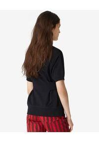 Kenzo - KENZO - Bluza z krótkim rękawem Tiger Crest. Kolor: czarny. Materiał: bawełna. Długość rękawa: krótki rękaw. Długość: krótkie