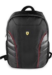"""Plecak Ferrari Ferrari Plecak FESRBBPSIC15BK 15"""" czarny/black Scuderia New Edition. Kolor: czarny"""