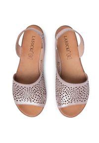 Różowe sandały Lasocki casualowe, na co dzień