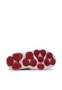 Geox - Sneakersy GEOX - J Nebcup B. B J02AZB 04614 C0085 M White/Red. Okazja: na spacer, na co dzień. Zapięcie: rzepy. Kolor: biały. Materiał: skóra, materiał. Styl: casual