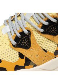 Flower Mountain - Sneakersy FLOWER MOUNTAIN - Corax Woman 0012015672.05.1G23 Yellow/Black. Okazja: na co dzień. Kolor: żółty. Materiał: zamsz, materiał, skóra. Szerokość cholewki: normalna. Sezon: lato. Styl: casual
