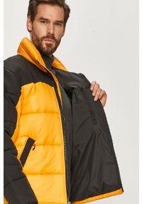 Żółta kurtka The North Face na co dzień, casualowa