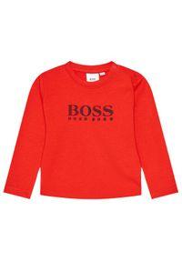 BOSS - Boss Bluzka J05845 Czerwony Regular Fit. Kolor: czerwony