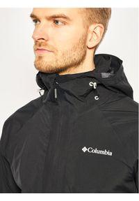 Czarna kurtka do biegania columbia