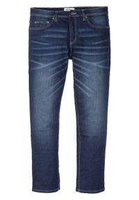 Dżinsy ze stretchem Regular Fit Straight bonprix Dżinsy ze str RF nieb.den. Kolor: niebieski