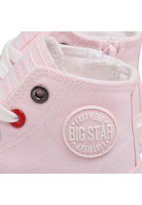 Różowe kozaki Big-Star