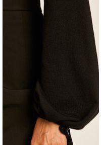 Czarny sweter Liu Jo z długim rękawem, na co dzień, casualowy