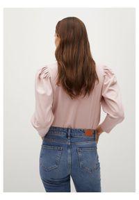 mango - Mango Bluzka Mary 87055690 Różowy Regular Fit. Kolor: różowy