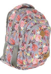 ALWAYS WILD - Plecak szkolny różowy Always Wild HS-11 HASH. Kolor: różowy. Materiał: materiał. Wzór: nadruk, aplikacja. Styl: sportowy