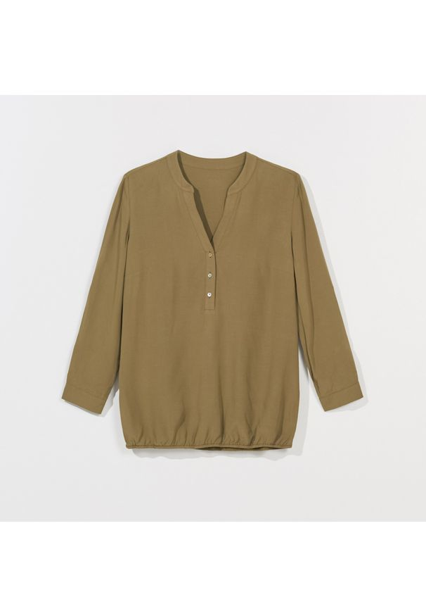 Brązowa koszula Mohito