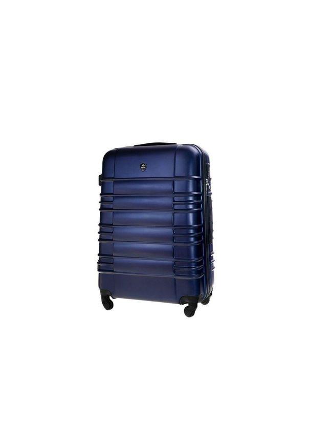 Niebieska walizka Solier