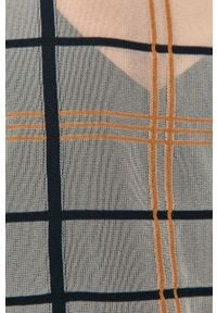 Wielokolorowa bluzka Liviana Conti na co dzień, długa, casualowa, z długim rękawem