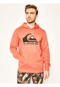 Quiksilver Bluza Comp Logo EQYFT04089 Pomarańczowy Regular Fit. Kolor: pomarańczowy