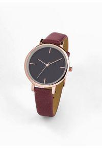 Fioletowy zegarek bonprix analogowy