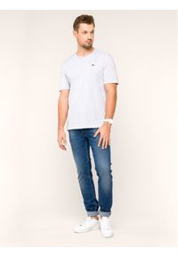 Lacoste T-Shirt TH7618 Szary Regular Fit. Kolor: szary