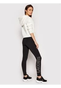 Lacoste Legginsy XF3901 Czarny Slim Fit. Kolor: czarny