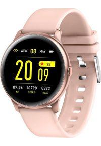 Różowy zegarek Gino Rossi smartwatch