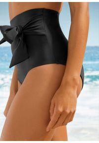 Figi bikini shape Level 3 bonprix czarny. Kolor: czarny