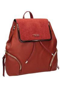 Czerwony plecak Nobo elegancki