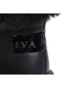Czarne śniegowce Eva Minge