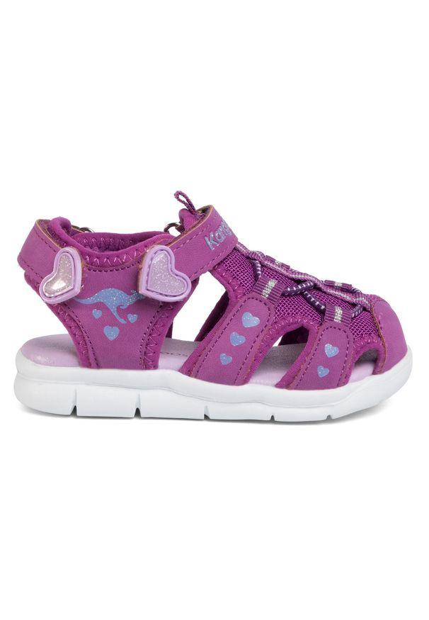 Fioletowe sandały KangaRoos