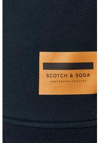 Niebieska bluza nierozpinana Scotch & Soda bez kaptura