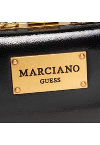 Czarna torebka Marciano Guess na ramię, skórzana