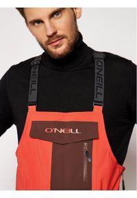 Pomarańczowe spodnie sportowe O'Neill narciarskie