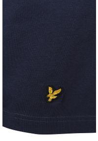 Niebieska piżama gładkie