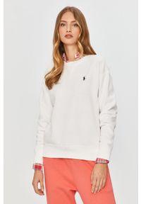 Biała bluza Polo Ralph Lauren polo, z aplikacjami