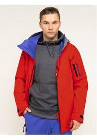 Czerwona kurtka sportowa Burton snowboardowa