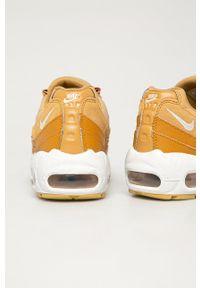 Nike Sportswear - Buty Air Max 95. Zapięcie: sznurówki. Kolor: żółty. Materiał: guma. Obcas: na platformie. Model: Nike Air Max