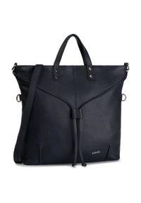 Niebieska torebka klasyczna Lasocki klasyczna