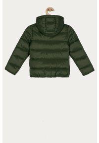 Zielona kurtka OVS na co dzień, casualowa, z kapturem