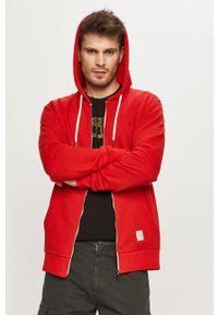 Cross Jeans - Bluza. Okazja: na co dzień. Kolor: czerwony. Styl: casual