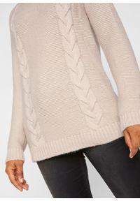 Szary sweter bonprix