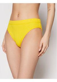 Levi's® Figi klasyczne z wysokim stanem Rib High Rise 16611-0004 Żółty. Stan: podwyższony. Kolor: żółty