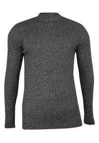Szary sweter Brave Soul melanż, na jesień, elegancki