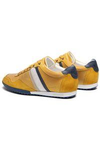 Cycleur De Luxe - Sneakersy CYCLEUR DE LUXE - Crash CDLM211157 Yellow. Okazja: na co dzień. Kolor: żółty. Materiał: zamsz, skóra. Szerokość cholewki: normalna. Styl: casual, sportowy