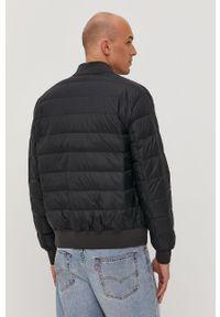 Czarna kurtka Tommy Jeans bez kaptura, gładkie