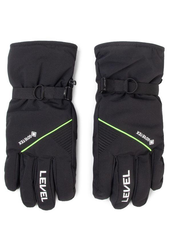 Czarna rękawiczka sportowa Level snowboardowa, Gore-Tex