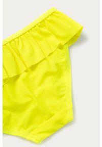 Żółty strój dwuczęściowy Name it gładki
