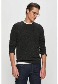 Szary sweter Marc O'Polo na co dzień, casualowy