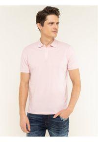 Różowa koszulka polo BOSS polo